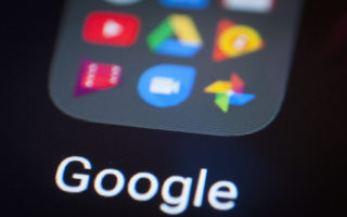 A collection of Google apps is seen on an Android portable device on February 5, 2018. (Photo by Jaap Arriens / Sipa USA)