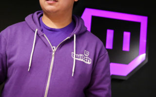 A man leaves the offices of Twitch Interactive Inc, a social video platform and gaming community owned by Amazon, in San Francisco, California, U.S., March 6, 2017.  REUTERS/Elijah Nouvelage